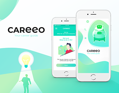 Case study career counselling app