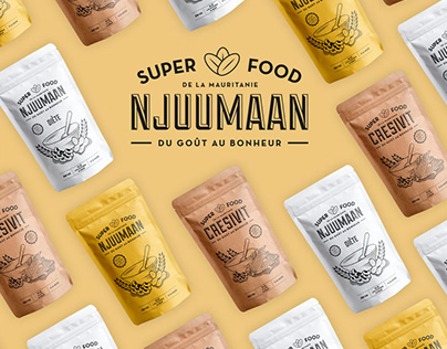 Njuumaan · Packaging Design