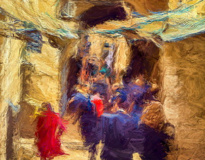 PAINTERLY DETAILS FROM ISRAEL