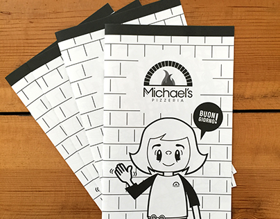 Pizzeria Coloring Book