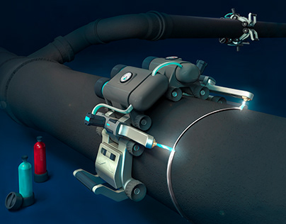 TITAN | Robot for cutting pipes