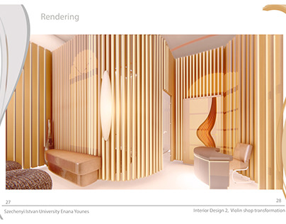 3d Rendering of an Interior Massage Space