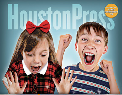 Houston Press cover and opener illos