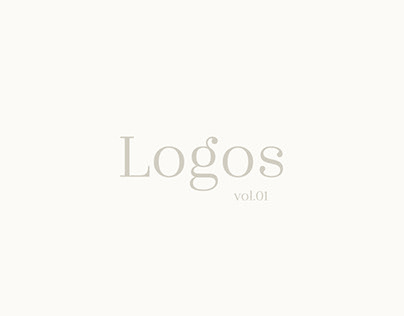 Minimal Logotypes vol.01