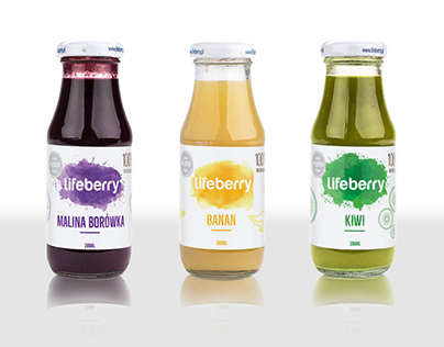 lifeberry - label concept