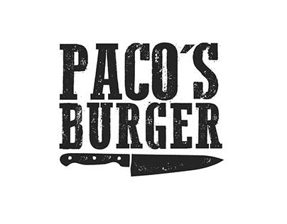 PACOS BURGER BRAND