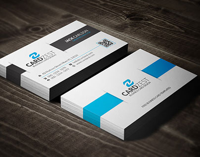 Free Clean & Modern Business Card Template