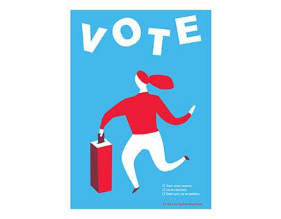 Vote Poster Campaign