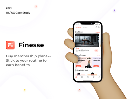 Finesse - The Fitness App