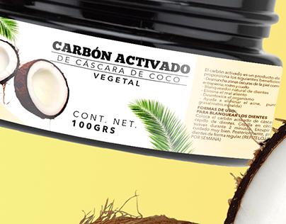 Etiqueta de producto cosmético | Label graphic design