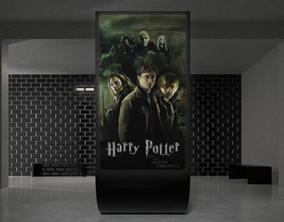 """Poster for """"Harry Potter and the deathly hallows"""""""