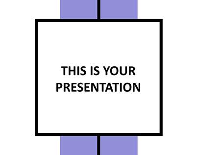Bosse Free Minimalist PowerPoint Template