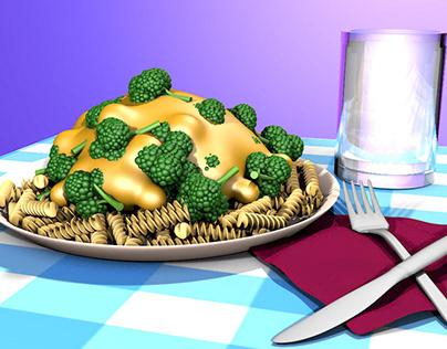 3D Modeling - Props, Food