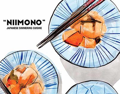Food Illustration | NIIMONO