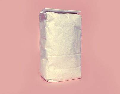 Free Flour Bag Mockup