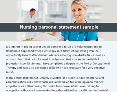 personal statement nursing child Nursing job applications firstly if you are applying to nursing jobs then these often require a personal statement as part of the application process.