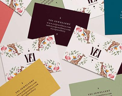 YEI Branding Design + Custom Illustration