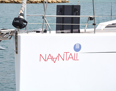 Yacht branding for Naantali