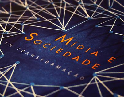 """Projeto Gráfico e Editorial - Livro """"Mídia e Sociedade"""