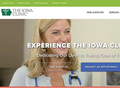 Content Strategy & Copy Development   The Iowa Clinic