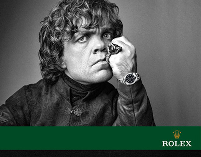 Tyrion Lannister for Rolex