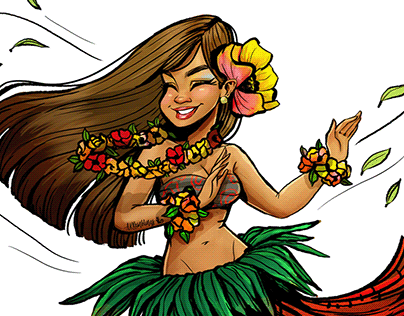 The Hawaiian Dancer