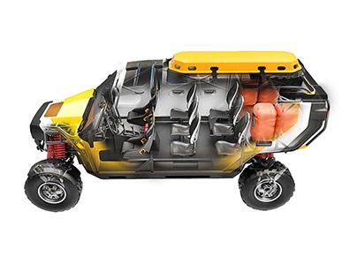 Surgo - Mountain rescue vehicle