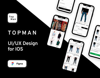 ReDesign of Topman App