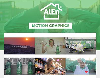Alen | Reciclaje •Motion Graphics