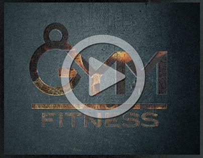 Brand: GYM FITNESS Video introduttivo del logo
