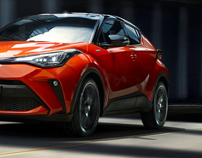 TOYOTA-C-HR with Oliver Paffrath