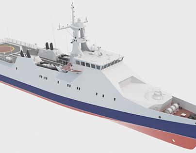 22460 Russian border patrol vessel