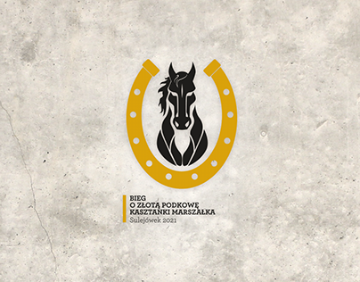 Bieg o Złotą Podkowę / projekt koszulki