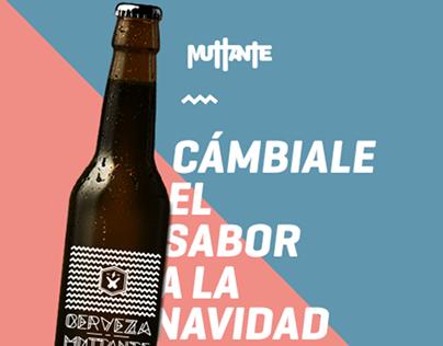AGENCIA MUTTANTE / Xmas / Fabricación Cerveza / Landing