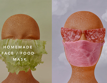 Food Mask/ Stay safe