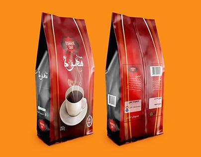 coffee bag conception