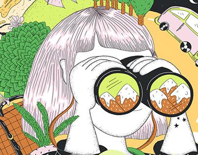 """Naturaleza viajera"" para Ver inspirada por Monoblock"