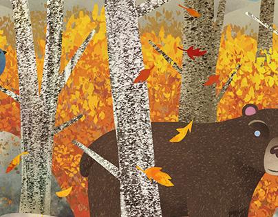 Fall Illustrations in Adobe Fresco