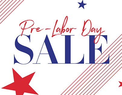 Labor Day Sale Email