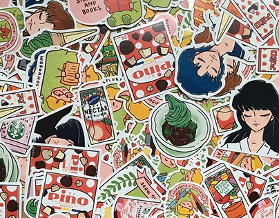 Stickers : Personal Fun Project