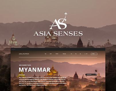 Asia Senses Website
