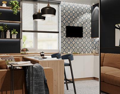 TIME - apartment interior design in Lviv