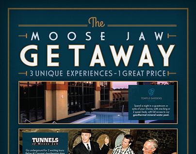Moose Jaw Getaway Magazine Ad