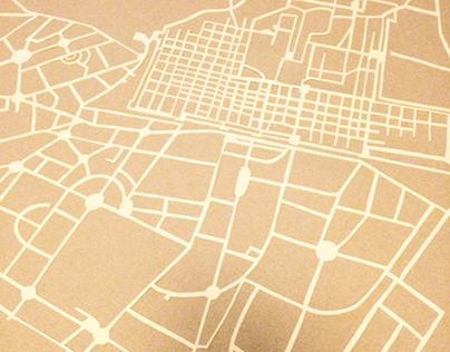 Papercuts - Jaipur map
