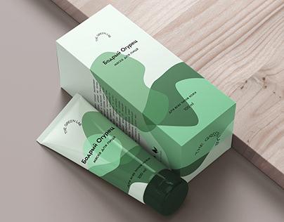 Face mask packaging | Упаковка маски для лица