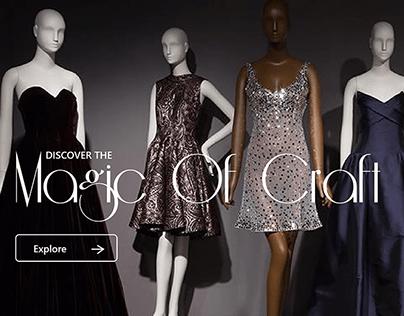 Responsive web design for Ama Design