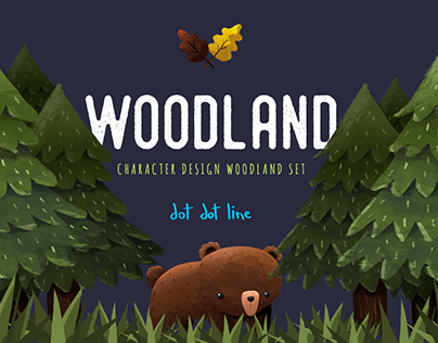 Woodland -Character Design Set-