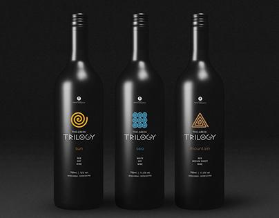 THE GREEK TRILOGY - Wine Label Design