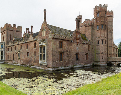 Moated Great House.