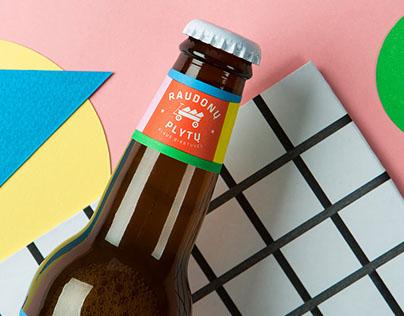 Red Brick beer label